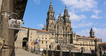 The Cathedral of Santiago de Compostela is the final destination on tours of the Camino de Santiago by Overseas Adventure Travel (OAT)