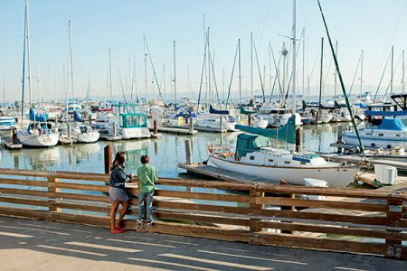 With just 24 hours in San Francisco, a stroll along the waterfront Embarcadero is a must!