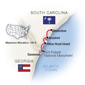 Savannah, Hilton Head & Charleston on a Tauck Tour